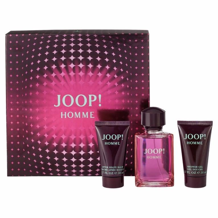 first look get online new authentic Joop Homme Gift set for Men 75ml EDT+Shower gel+After shave balm