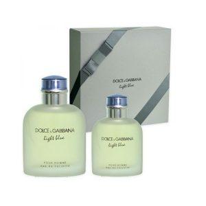 Dolce   Gabbana Light Blue Pour Homme Gift set 125ml EDT+40ml EDT ... 207858f14ad
