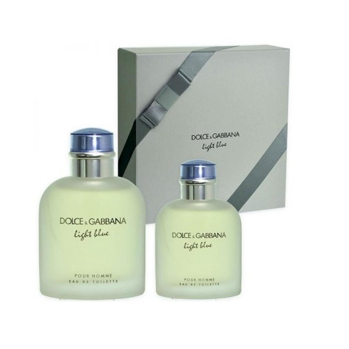 781382df45bd0 Dolce   Gabbana Light Blue Pour Homme Gift set 125ml EDT+40ml EDT ...